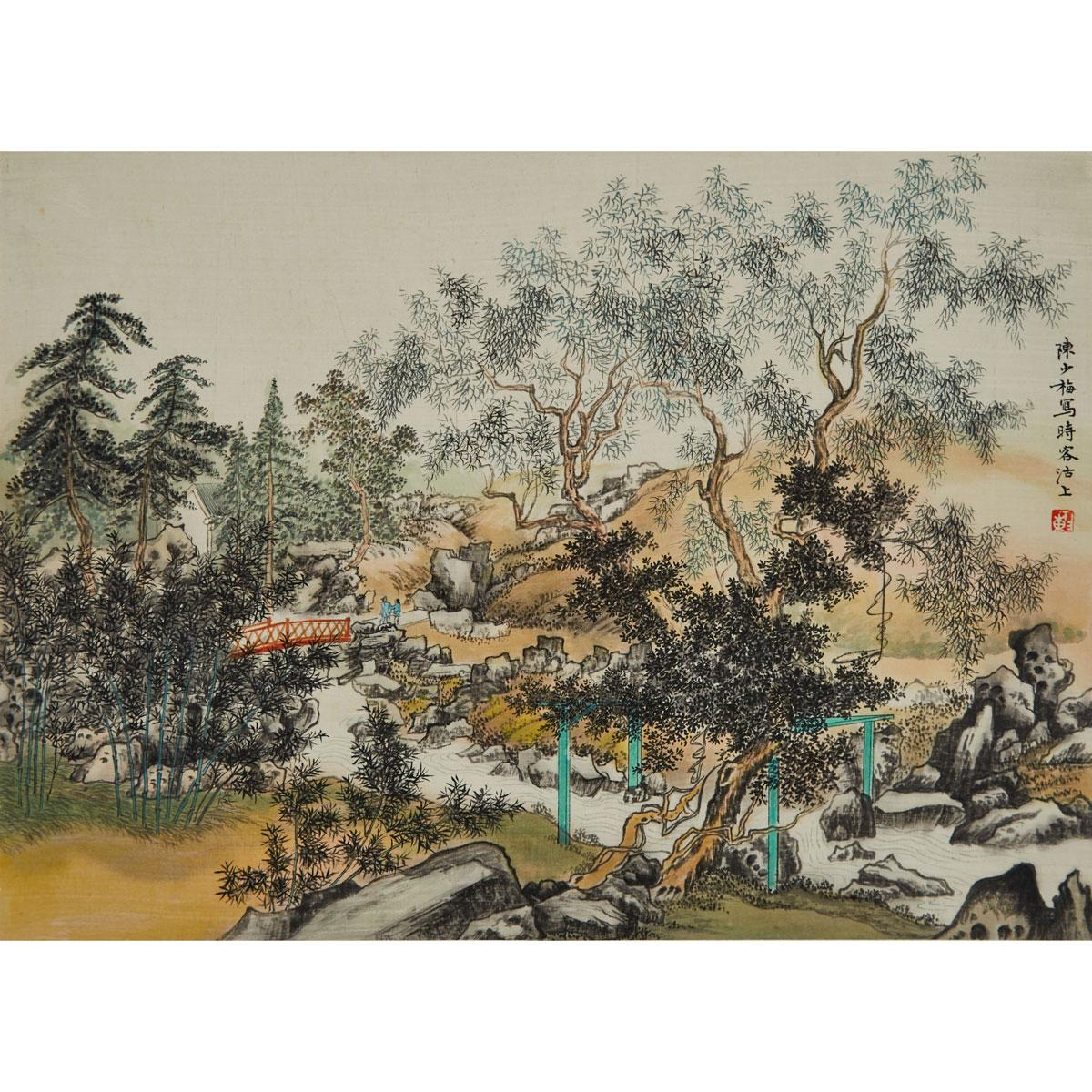 Lot 490 After Chen Shaomei 1909 1954